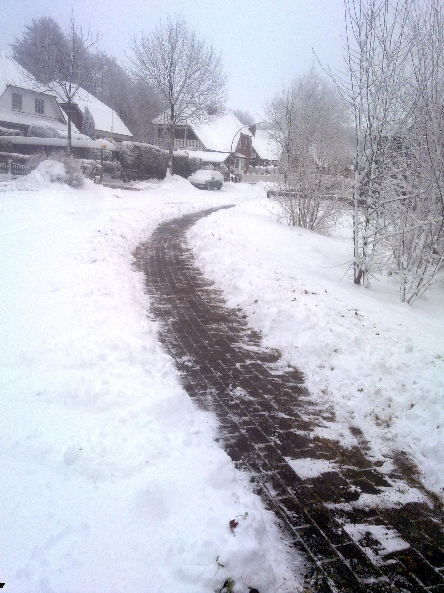 Winterdienst, Schnee und Glatteisräumung