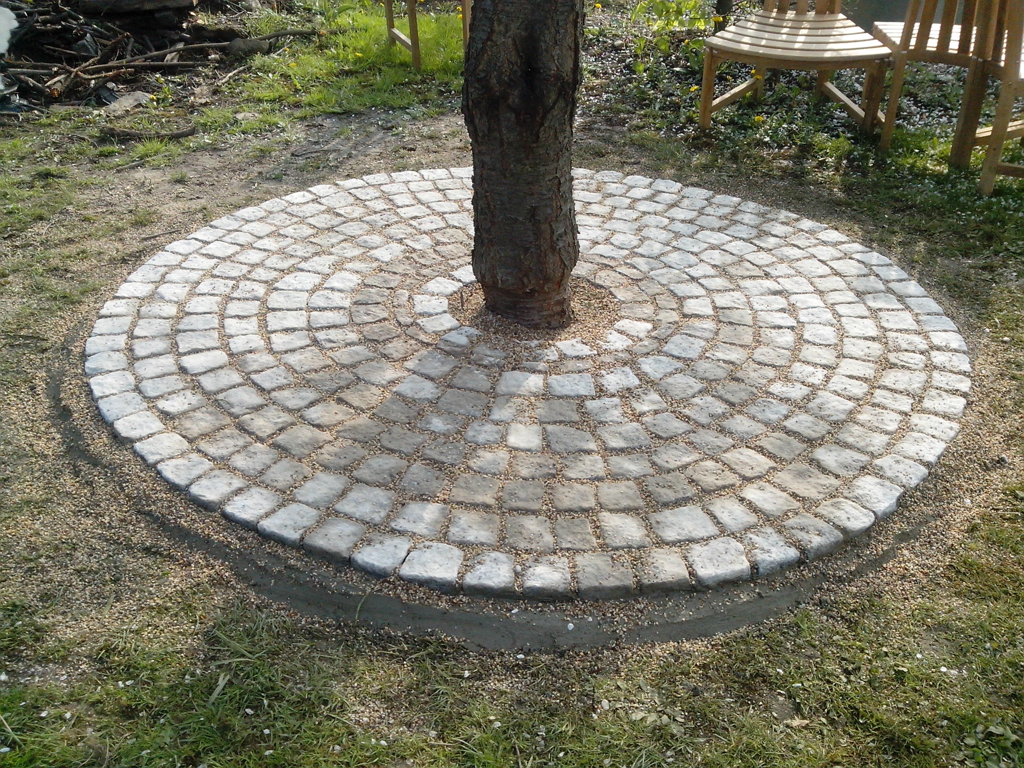 Granit pflasterarbeiten