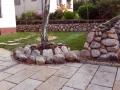 Natur Steinarbeit, Mauerbau