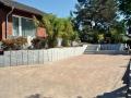 Steinarbeit, Mauerbau, Parkplatz-bau, Granit-stelle-bau, Treppe-bau, Bepflanzung