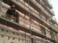 Haus Sanierung, Außenwand Sanierung, Maler Arbeiten, Dämmungsarbeiten