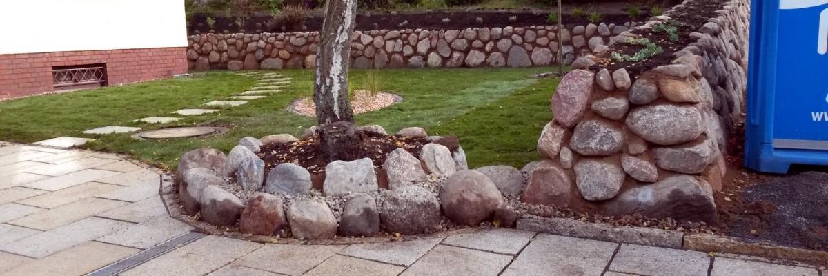 Mauerbau, Natur Steinarbiet